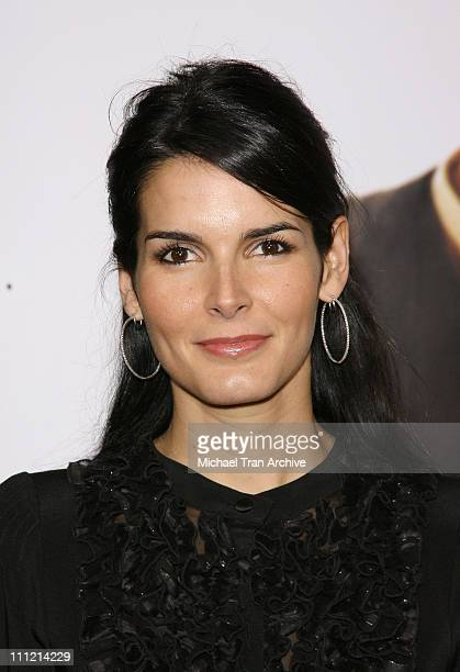 "Angie Harmon during ""The Pursuit of Happyness"" World Premiere - Arrivals at Mann Village Theater in Westwood, California, United States."