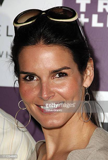 Angie Harmon during Travel Leisure Magazine Celebrates 35th Birthday Arrivals at W Hotel Los Angeles in Westwood California United States