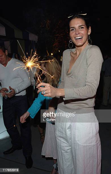 Angie Harmon during Travel Leisure Magazine Celebrates 35th Birthday Inside at W Hotel Los Angeles in Westwood California United States