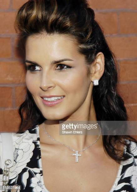 Angie Harmon during 'Vote FCUK 2004' A French Connection/'Rock the Vote' Event at Soho French Connection Store in New York City New York United States