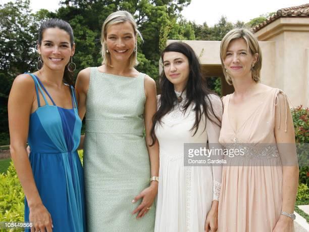 Angie Harmon, Nicola Maramotti, Shiva Rose McDermott and Rachel Ortiz