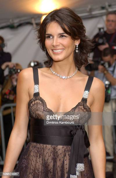Angie Harmon wearing VIVID Collection diamond jewelry