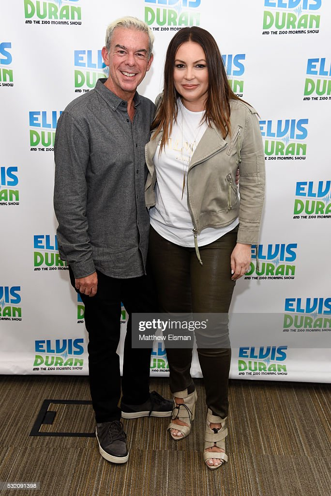 "Angie Martinez Visits ""The Elvis Duran Z100 Morning Show"" : News Photo"
