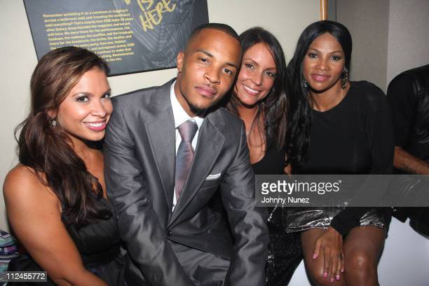 TI Angie Martinez and Sandra 'Pepa' Denton attend Vibe Magazine's 15th anniversary party on August 12 2008 in New York City