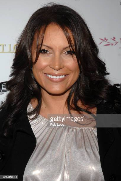 Angie Martinez arrives at Fabolous' birthday party at Azza on November 20 2007 in New York City