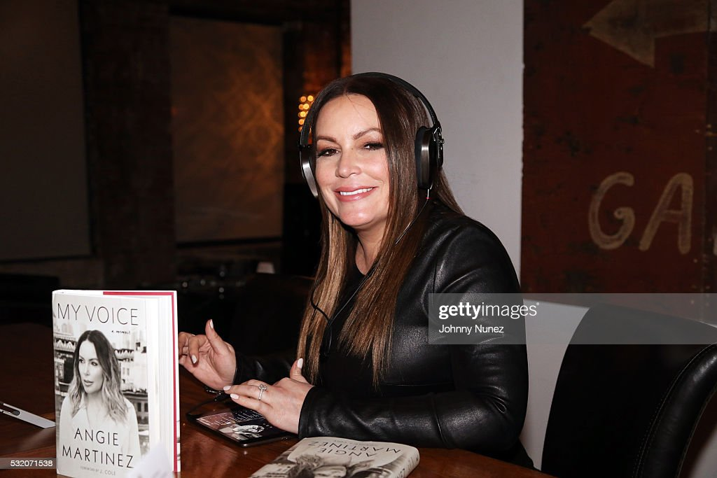 """Angie Martinez """"My Voice: A Memoir"""" Book Launch Party : News Photo"""