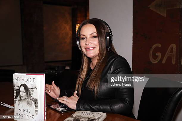 Angie Martinez attends her 'My Voice A Memoir' Book Launch Party on May 17 2016 in New York City