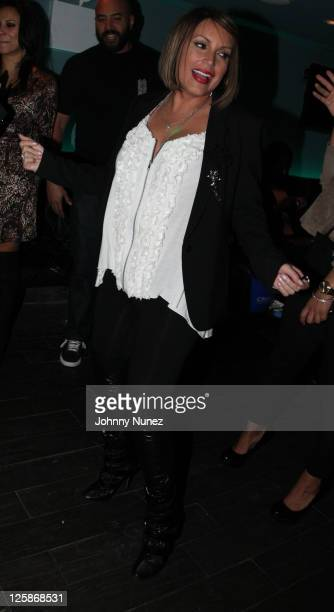 Angie Martinez attends her Surprise Birthday Party at Truffles Restaurant on January 21 2011 in New York City