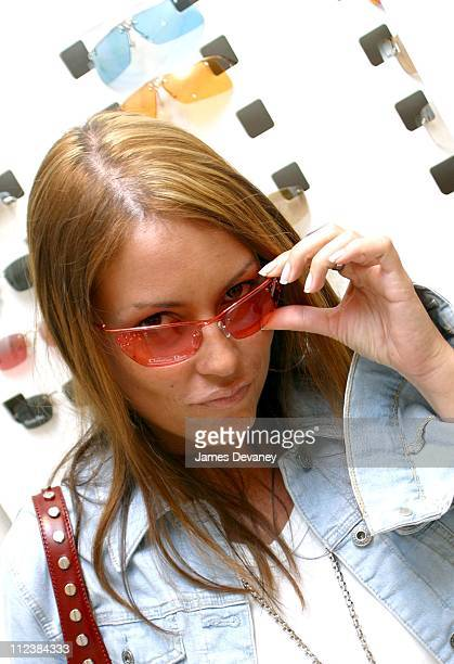 Angie Martinez during Angie Martinez and Lisa Lisa at the Grand Opening of Solstice Eyewear Store in Midtown Manhattan at Solstice in New York City...