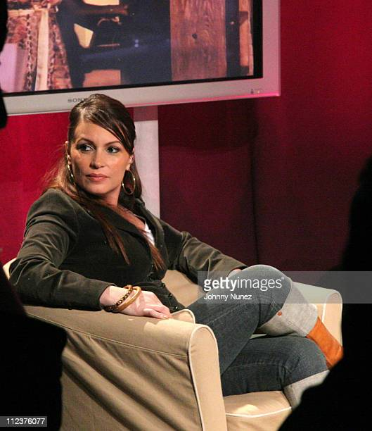 Angie Martinez during BET's The Ultimate Hustler Live Finale at CBS Studios in New York New York United States
