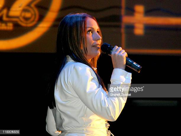 Angie Martinez during Fuse and Hot 97 Present Full Frontal Hip Hop with Host Lil' Kim at Webster Hall in New York New York United States