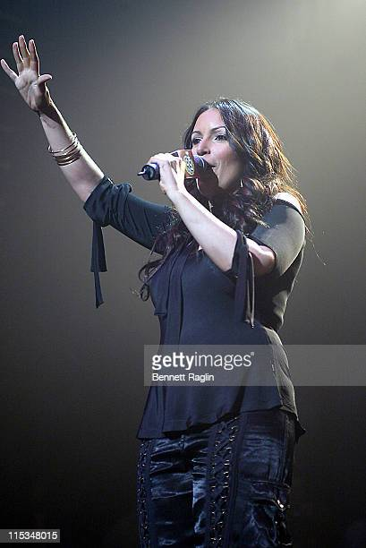 Angie Martinez during Hot 97's Third Annual Full Frontal Hip Hop Fashion Show at Hammerstein Ballroom in New York NY United States