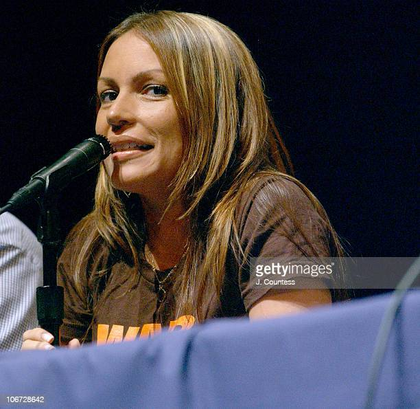 Angie Martinez during Russell Simmons and the HipHop Action Summit host First Ever Latino HipHop Summit at Lehman College in New York City New York...