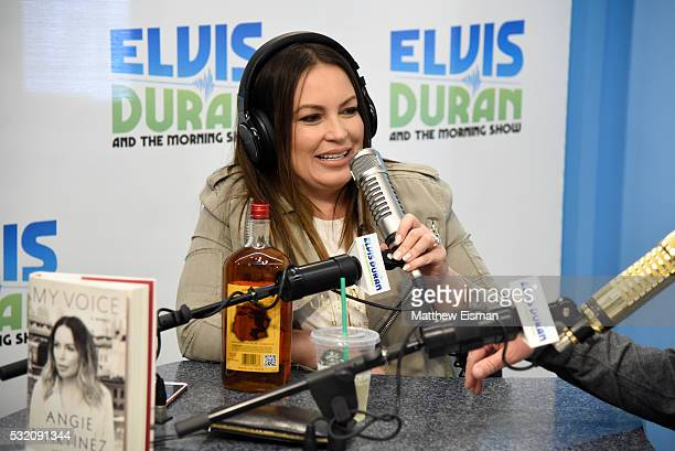 Angie Martinez visits 'The Elvis Duran Z100 Morning Show' at Z100 Studio on May 18 2016 in New York City