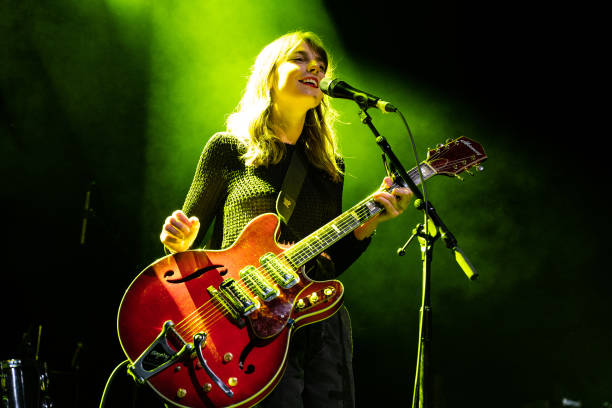 GBR: Julia Jacklin Performs At O2 Forum Kentish Town, London