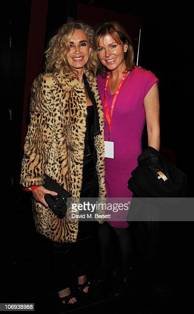 Angie Rutherford attends the afterparty following The Prince's Trust Rock Gala 2010 supported by Novae at The Baglioni Hotel on November 17 2010 in...