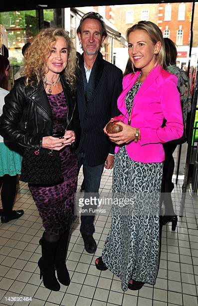 Angie Rutherford Mike Rutherford and Hanneli Rupert attends pop up shop of African concept store Merchants on Long at The Shop at The Shop at...