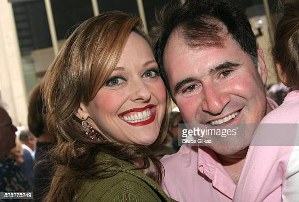 Angie Schworer and Richard Kind **Exclusive Coverage**