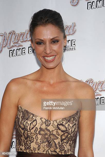 Angie Schworer attends MARTIN SHORT FAME BECOMES ME Opening Night Arrivals at Bernard B Jacobs Theatre on August 17 2006 in New York City