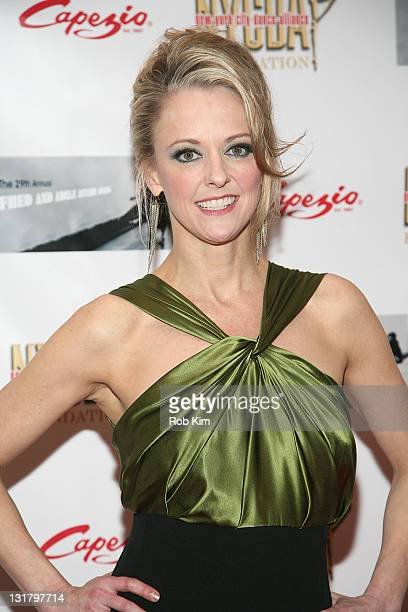 Angie Schworer attends the 29th Annual Fred Adele Astaire Awards at Jack H Skirball Center for the Performing Arts on May 15 2011 in New York City
