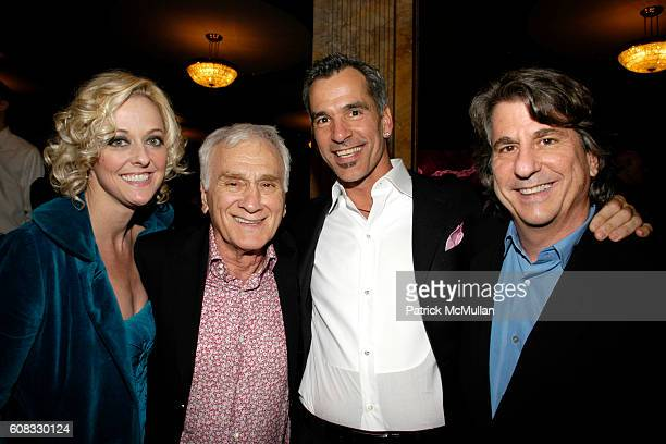 Angie Schworer Dick Latessa Jerry Mitchell and David Rockwell attend Opening Night Of Legally Blonde at The Palace Theatre and Cipriani 42nd Street...