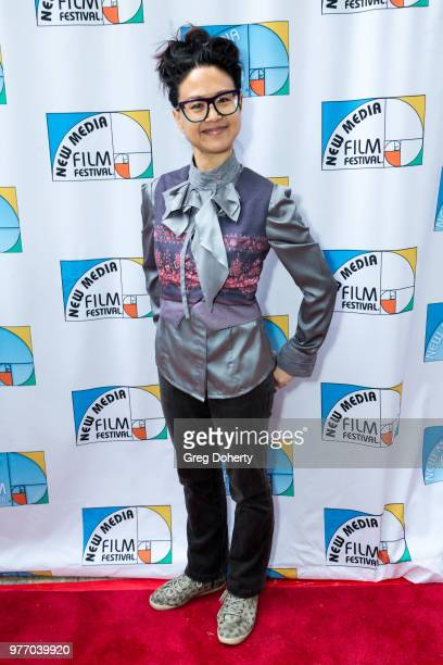 Angie Shyr attends the 9th Annual New Media Film Festival at James Bridges Theater on June 16 2018 in Los Angeles California