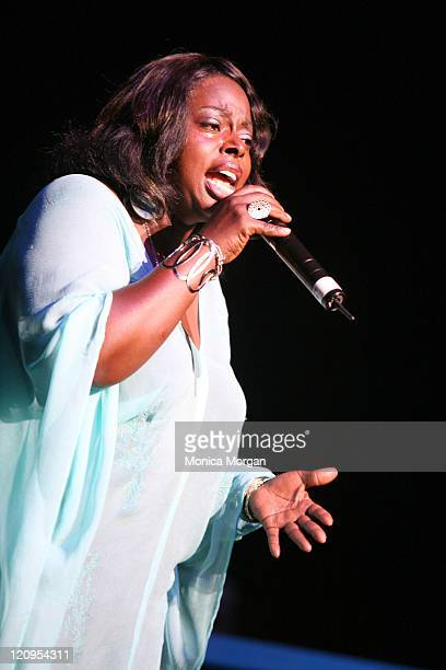 Angie Stone during Gladys Knight and Angie Stone Perform at the National Urban League Benefit Concert - July 27, 2006 at Atlanta Civic Center in...