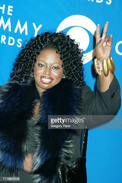 Angie Stone during The 45th Annual GRAMMY Awards Arrivals by Gregory Pace at Madison Square Garden in New York NY United States
