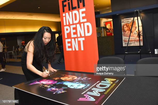 Angie Wang attends Film Independent presents special screening of 'MDMA' at The WGA Theater on August 16 2018 in Beverly Hills California