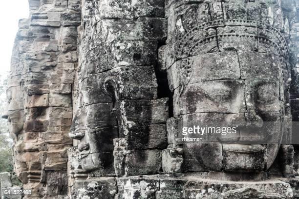 Angkor, Siem Reap, Cambodia. Angkor Thom. Bayon Temple.