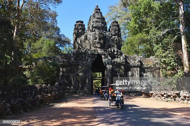 Angkor Thom East gate, Siem Reap, Cambodia