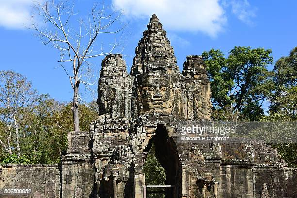 Angkor Thom South gate, towards the Bayon Temple, Siem Reap, Cambodia