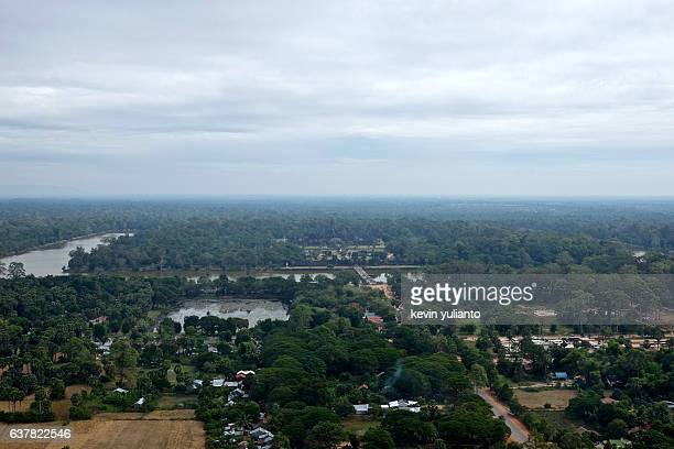 Angkor Wat and Angkor Landscape, Siam Reap