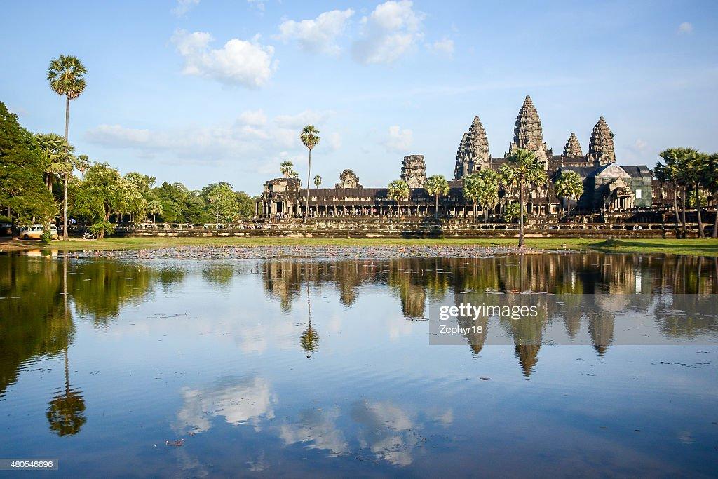 Angkor Wat at Siem Reap, Cambodia : Stock Photo