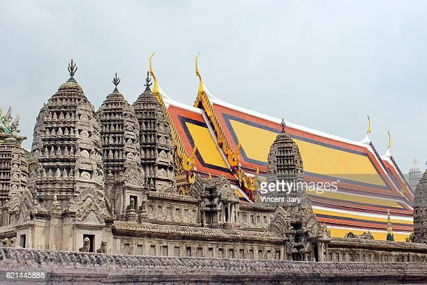 Angkor Wat at Wat Phra Kaew Bangkok Thailand