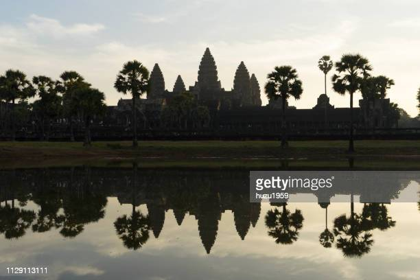 Angkor Wat, early in the morning