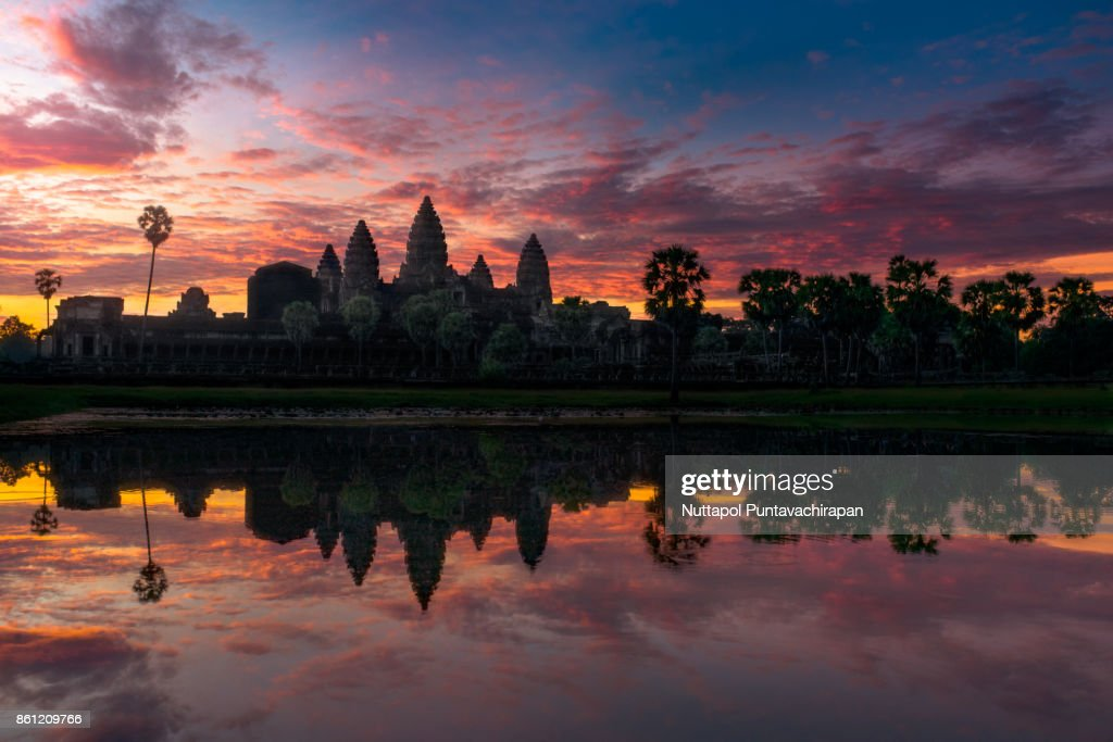 Angkor Wat, Siem Reap, Cambodia : Stock Photo