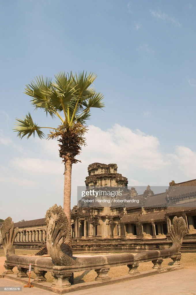 Angkor Wat temple, 12th century, Khmer, Angkor, UNESCO World Heritage Site, Siem Reap, Cambodia, Indochina, Southeast Asia, Asia : Stock Photo