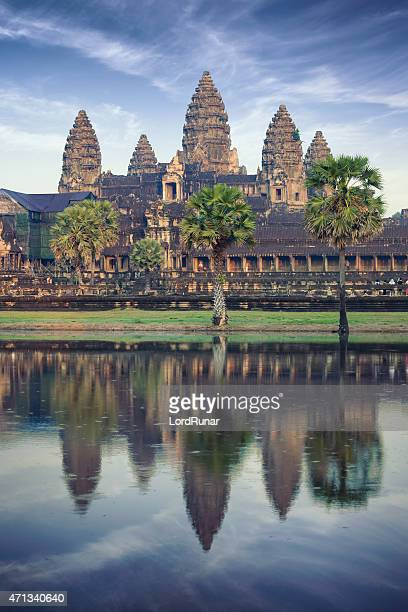 Angkor Wat temple in Cambodia