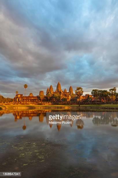 angkor wat temple, - massimo pizzotti foto e immagini stock