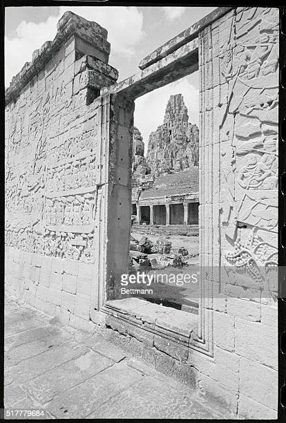 AngkorJewel of the Jungle Angkor Cambodia This closeup of a wall in the Bayon a temple built between 1181 and 1220 shows the splendid Bas Relief...