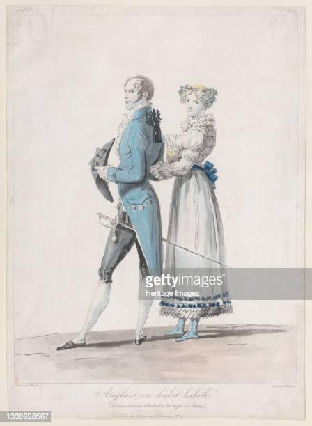 Anglais en Habit Habille; from Collections de Costumes dessinés, 1814-24. Artist Philibert Louis Debucourt.