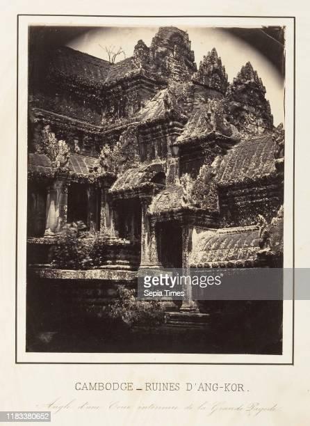Angle d'Une Cour Interieure de la Grande Pagode Albumen silver print from glass negative 227 x 177cm Photographs Emile Gsell The conquest of Saigon...