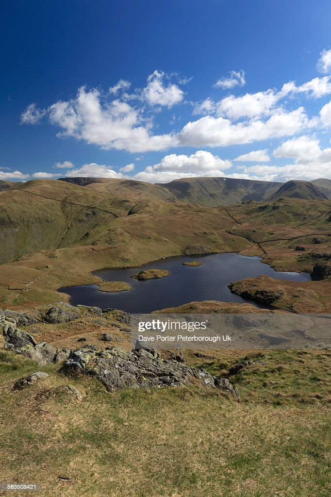 Angle Tarn, Angletarn Pikes, Lake District : Stock Photo