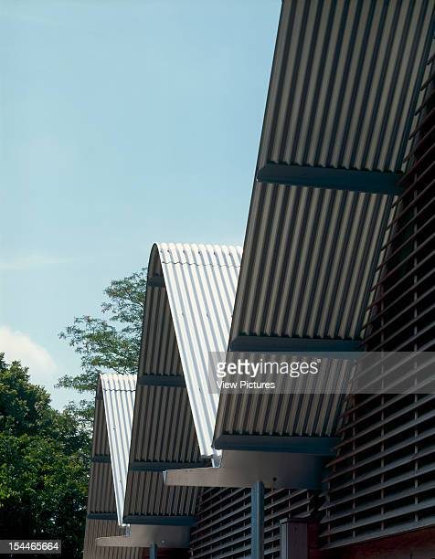 Anglesea Abbey Visitor Centre, Cambridge, United Kingdom, Architect Cowper Griffiths Anglesea Abbey Visitor Centre Eaves Detail