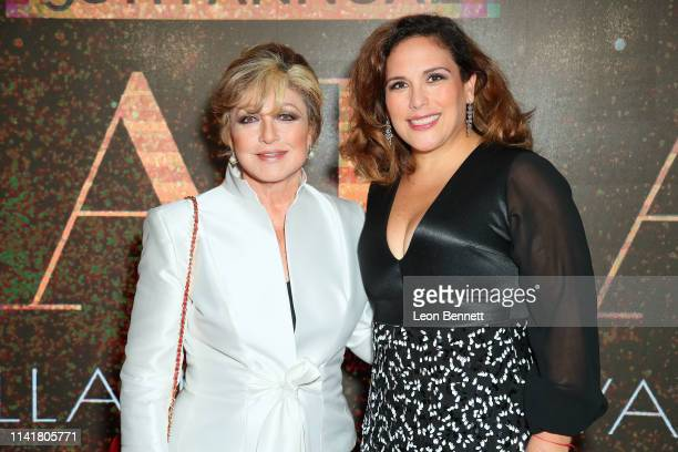 Angélica María and Angélica Vale attend The Hollywood Chamber Of Commerce 98th Annual Board Installation And Lifetime Achievement Awards Gala at...