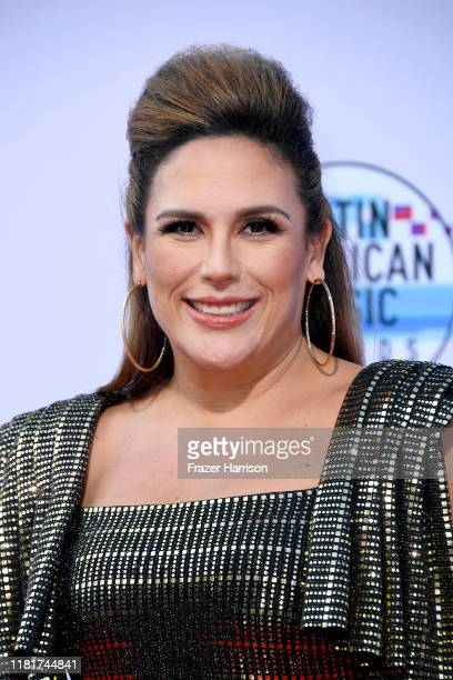 Angélica Vale attends the 2019 Latin American Music Awards at Dolby Theatre on October 17 2019 in Hollywood California