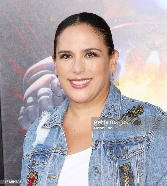 Angélica Vale attends the opening night of Universal Studios' Halloween Horror Nights held at Universal Studios Hollywood on September 12 2019 in...