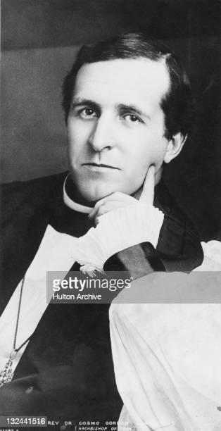 Anglican Archbishop of York Cosmo Gordon Lang circa 1909