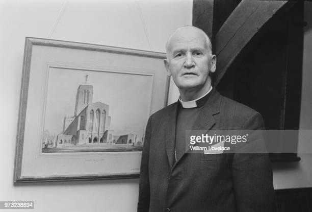 Anglican bishop George Reindorp 75th Bishop of Salisbury UK 15th December 1972